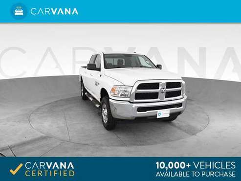 2017 Ram 2500 Crew Cab Big Horn Pickup 4D 6 1/3 ft pickup Off white - for sale in Phoenix, AZ