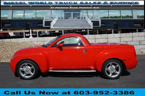2004 Chevrolet Chevy SSR LS 2dr Regular Cab Convertible Rwd SB Diesel for sale in Plaistow, NH