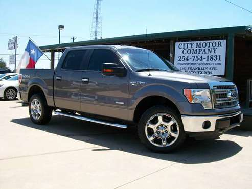 LOCAL WACO DEALER - 2013 FORD SUPERCREW XLT-4X4 for sale in Waco, TX