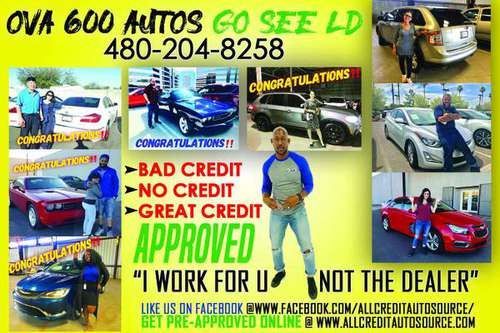 🔴GO See LD*$500-$2000 DOWN Delivers*OVA 500 Autos! Bad Credit OK* for sale in Tempe, AZ