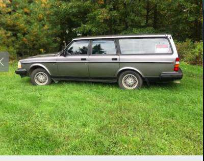 1992. 240 Volvo Wagon - 5 speed for sale in Gardiner, ME