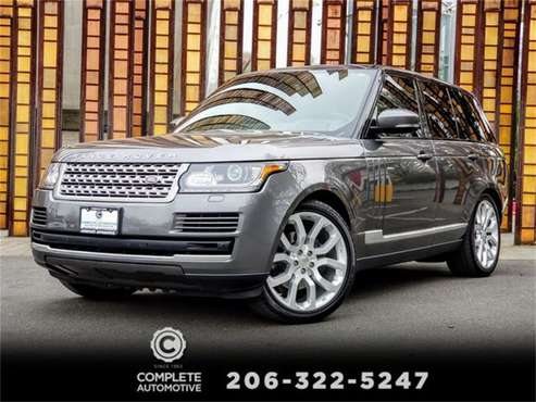 2014 Land Rover Range Rover for sale in Seattle, WA