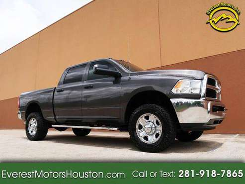 2017 Dodge Ram 2500 TRADESMAN CREW CAB SHORT BED 4WD GASOLINE EZ FI for sale in Houston, TX