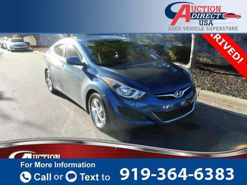 2015 Hyundai Elantra SE sedan Windy Sea for sale in Raleigh, NC