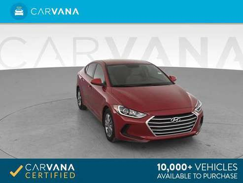 2017 Hyundai Elantra Limited Sedan 4D sedan Red - FINANCE ONLINE for sale in Round Rock, TX
