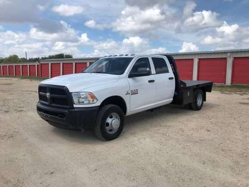 2018 RAM 3500 Crew Cab 4x4 Flatbed Truck - 6.7 Cummins - 38k miles for sale in Hutto, TX