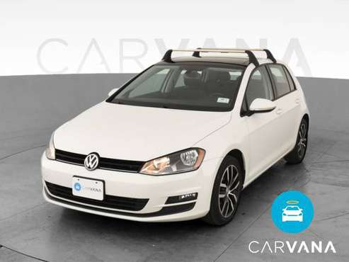 2015 VW Volkswagen Golf S Hatchback Sedan 4D sedan White - FINANCE -... for sale in Phoenix, AZ