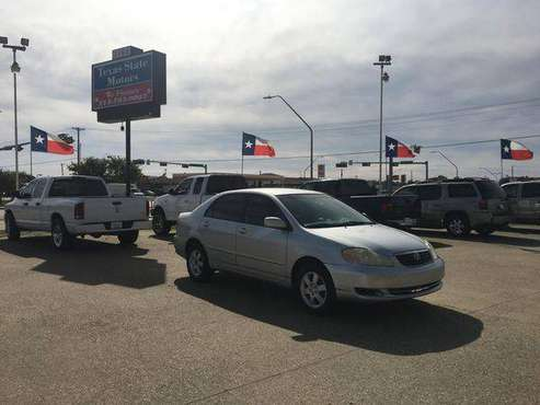 2007 TOYOTA COROLLA 4D -- WE FINANCE~PREV REPOS OK ~ - for sale in Garland, TX