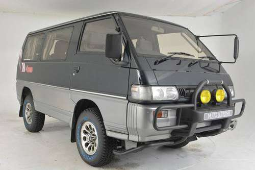 1992 Mitsubishi Delica Turbo Diesel 4WD !!! Vanagon Syncro !!! SUP for sale in Philadelphia, PA