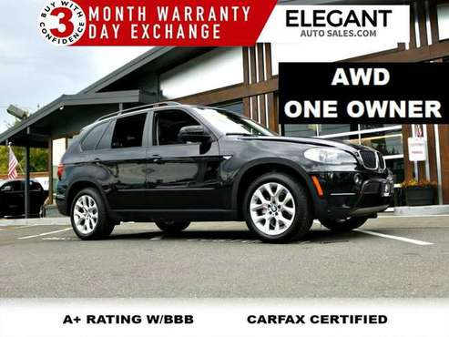 2011 BMW X5 AWD 35i Premium one owner NAVI, HEATED SEATS SUV All Wheel for sale in Beaverton, OR