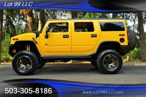 2004 *HUMMER* *H2* 4X4 SUPERCAHRGED LEATHER LIFTED 20 NEW 37S 3 ROW H3 for sale in Milwaukie, OR