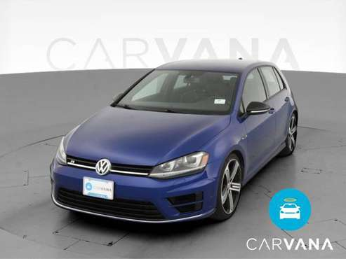 2016 VW Volkswagen Golf R Hatchback Sedan 4D sedan Blue - FINANCE -... for sale in Bakersfield, CA