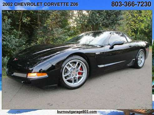 2002 CHEVROLET CORVETTE Z06 with - cars & trucks - by dealer -... for sale in Rock Hill, NC