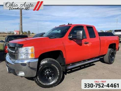 2008 Chevrolet Silverado 2500HD LT 4x4 Crew Cab 1-Owner Clean Carfax W for sale in Canton, OH