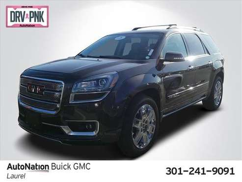 2015 GMC Acadia Denali AWD All Wheel Drive SKU:FJ339300 for sale in Laurel, MD