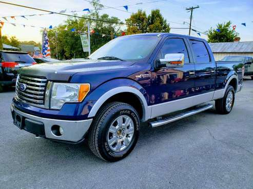 2010 FORD F150 4X4 SUPER CREW CAB , PERFECT+FREE 3 MONTH WARRANTY for sale in Front Royal, WV