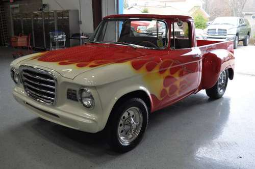1960 HOT ROD STUDEBAKER PICK UP Willie Nelson Chevy V8 for sale in New Baltimore, MI