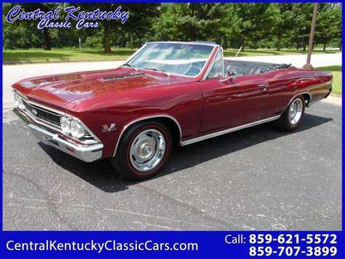 1966 Chevrolet Chevelle CONVERTIBLE SS 396 for sale in Paris , KY