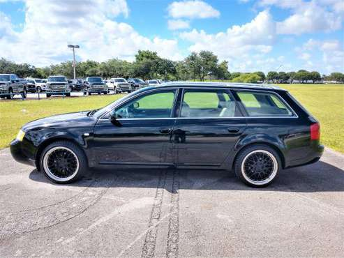 1999 AUDI A6 WAGON AVANT QUATTRO 90K MILES ($1500 DOWN WE FINANCE ALL) for sale in Pompano Beach, FL