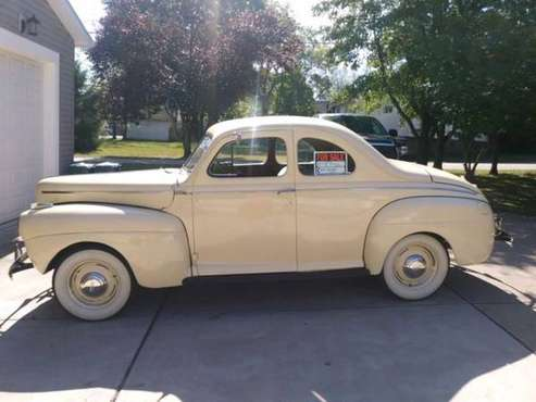 1941 FORD DELUXE BUSINESS COUPE for sale in HOUSTON, PA, PA