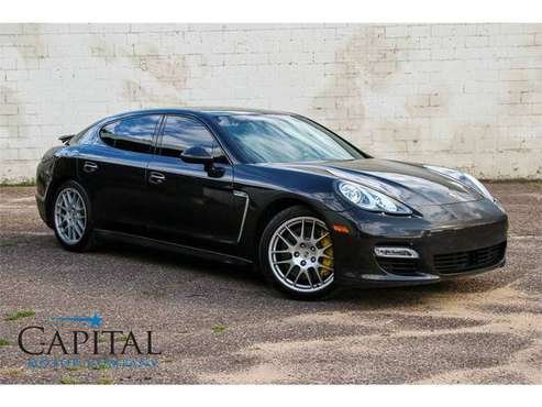 2011 Porsche Panamera Turbo w/All-Wheel Drive! 500 HP!!! for sale in Eau Claire, WI