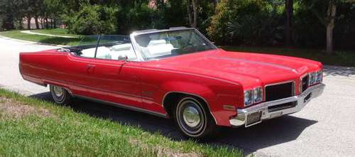 1970 Oldsmobile Ninety-Eight Convertible for sale in TAMPA, FL