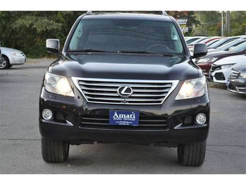 2009 Lexus LX 570 SUV Base AWD 4dr SUV (BLACK) for sale in Hooksett, NH