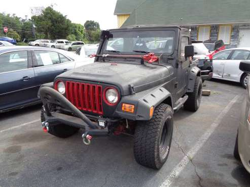 2002 JEEP WRANGLER TJ */M A N U A L */* EXCELENT , GOOD CONDITION -... for sale in Atlanta, GA