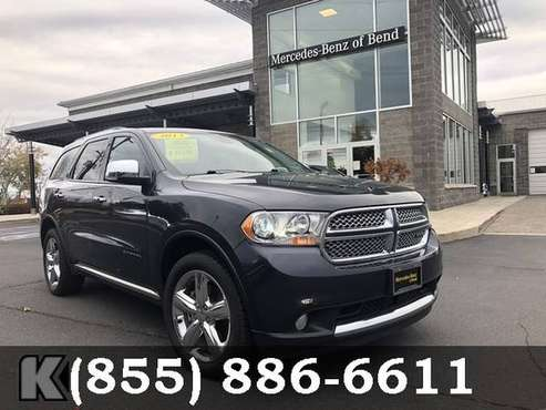 2013 Dodge Durango True Blue Pearl SEE IT TODAY! for sale in Bend, OR