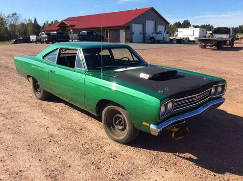 1969 1/2 Plymouth A12 Road Runner 440 w/ 6-Pack on Absolule Auction for sale in Irma, WI