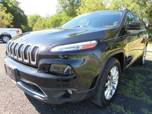 2014 Jeep Cherokee Limited- 3.2L V6, 70,000 Miles, Leather, Navigation for sale in Waco, TX