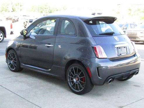 2015 Fiat 500 hatchback Abarth - Granito Lucente (Granite for sale in Springfield, MI