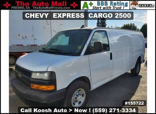 2019 CHEVY EXPRESS CARGO 2500 * CARFAX 1-OWNER * REAR VIEW CAMERA for sale in Fresno, CA