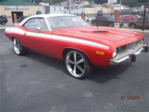 1974 Plymouth Barracuda for sale in Cadillac, MI