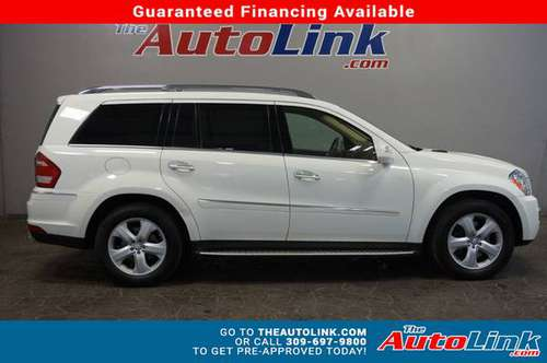2010 *MERCEDES-BENZ* *GL450* *4MATIC 4dr* Arctic Whi for sale in Bartonville, IL
