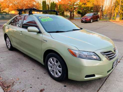 2007 TOYOTA CAMRY HYBRID**SALE** - cars & trucks - by dealer -... for sale in Portland, OR