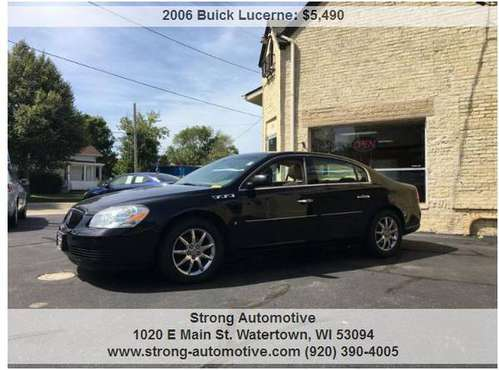 2006 Buick Lucerne CXL V6 4dr Sedan for sale in Watertown, WI
