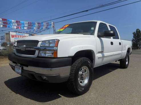 2004 CHEVY SILVERADO 2500HD CREWCAB 4X4 for sale in Anderson, CA
