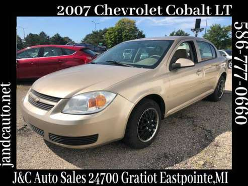 2007 Chevrolet Cobalt LT2 Sedan for sale in Eastpointe, MI