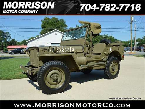 1942 Willys Jeep for sale in Concord, NC
