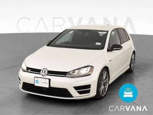 2017 VW Volkswagen Golf R Hatchback Sedan 4D sedan White - FINANCE -... for sale in Albuquerque, NM