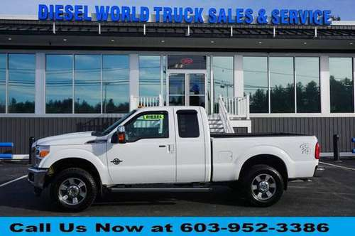 2011 Ford F-250 F250 F 250 Super Duty Lariat 4x4 4dr SuperCab 6.8 ft. for sale in Plaistow, NH
