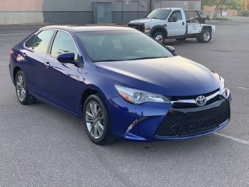 2016 Toyota Camry SE - cars & trucks - by owner - vehicle automotive... for sale in Peoria, AZ