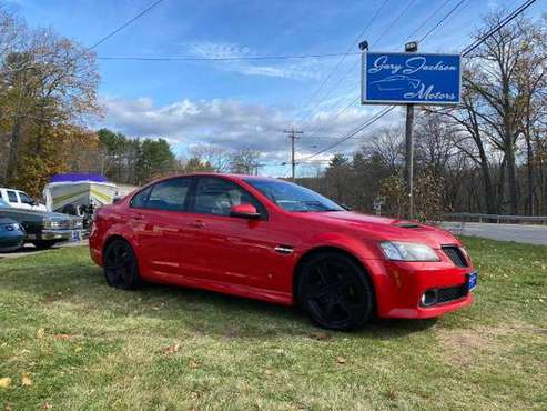 2009 Pontiac G8 4dr Sdn GT - cars & trucks - by dealer - vehicle... for sale in North Oxford, MA