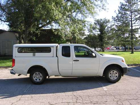 ***14 Frontier king cab, 82k mi, side entry contractor shell, 2wd *** for sale in Ballwin, MO