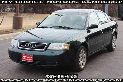 1999*AUDI*A6*QUATTRO 2.8*LEATHER SUNROOF CD KEYLES GOOS TIRES 068911 for sale in Elmhurst, IL