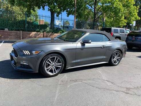 2017 Ford Mustang EcoBoost Premium*Loaded*Low Miles*Convertible* for sale in Fair Oaks, CA