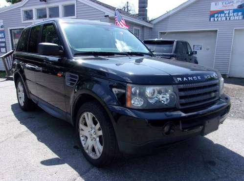 2006 Range Rover Sport HSE/EVERYONE is APPROVED@Topline Imports!!! for sale in Haverhill, MA