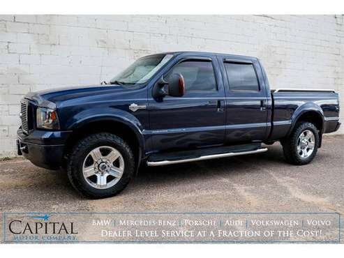 Turbo Diesel 4x4! Gorgeous Ford F250 Super Duty HARLEY Truck! - cars... for sale in Eau Claire, MN