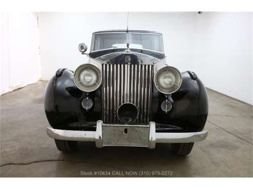 1947 Rolls-Royce Silver Wraith for sale in Beverly Hills, CA